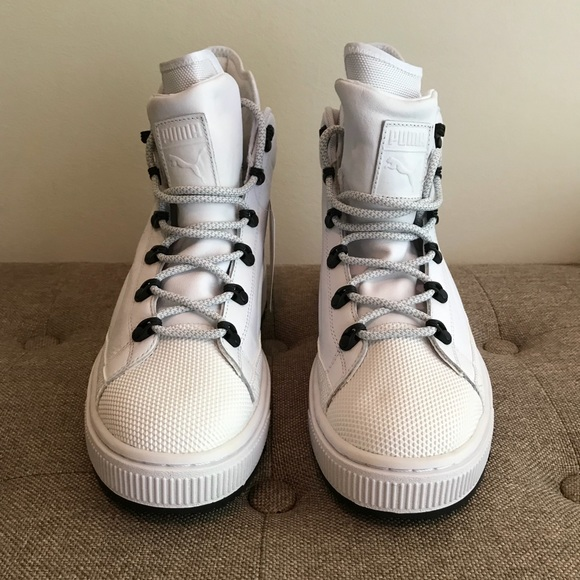 Puma Shoes   The Ren Boot White Leather